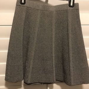 Zara Grey tweed skirt